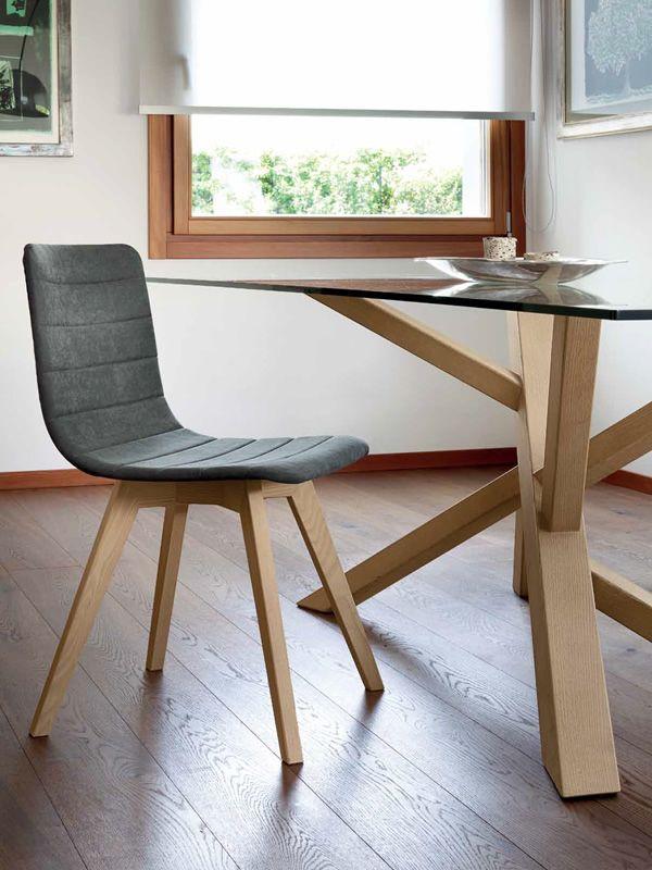 tree 200 table fixe domitalia en bois plateau en verre ou bois 200 x 100 cm sediarreda. Black Bedroom Furniture Sets. Home Design Ideas