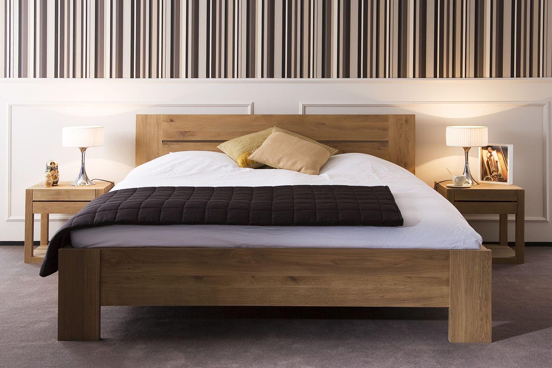 azur cama matrimonial ethnicraft con estructura de madera en distintas medidas
