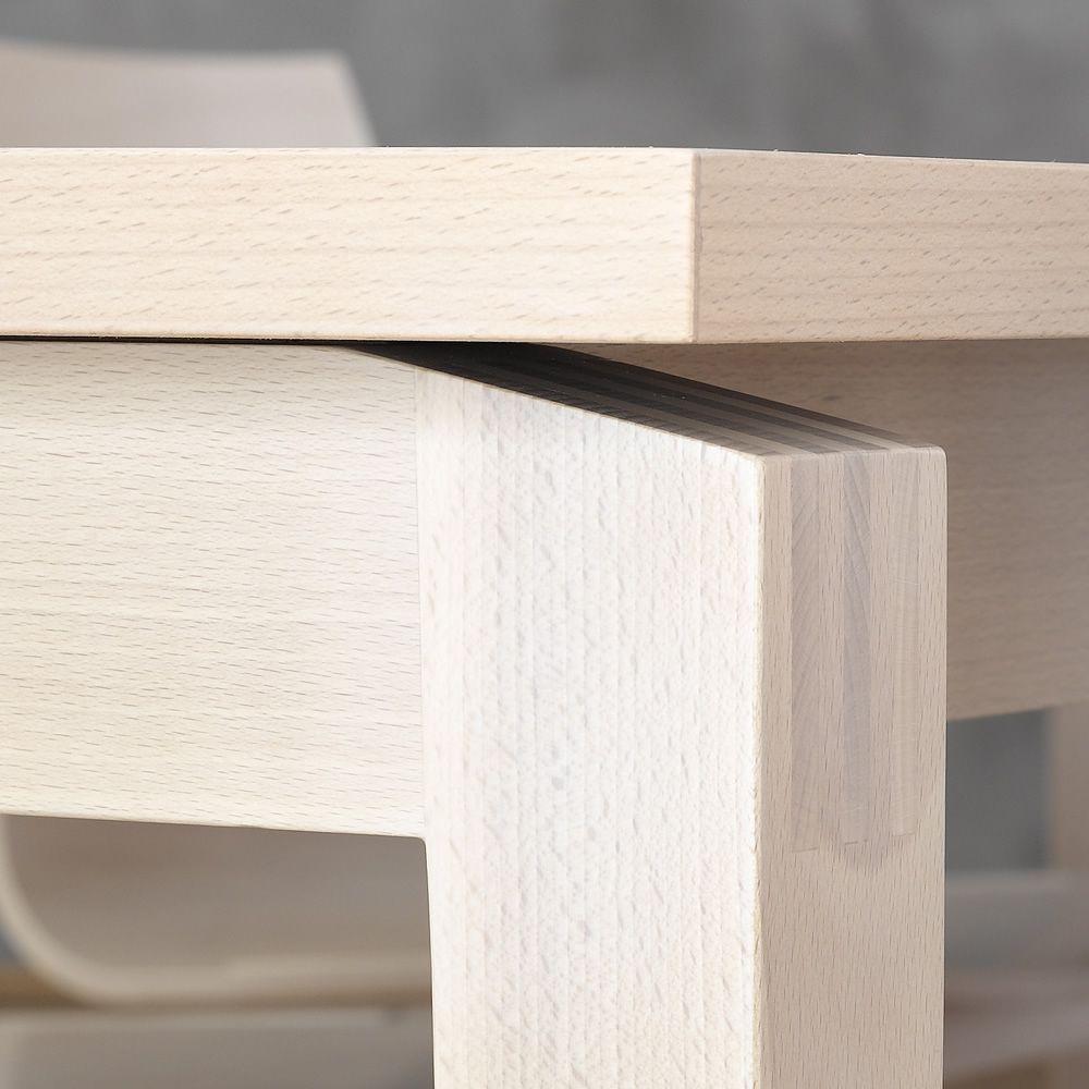stockholm rechteckiger tisch ton aus holz platte 90 x. Black Bedroom Furniture Sets. Home Design Ideas