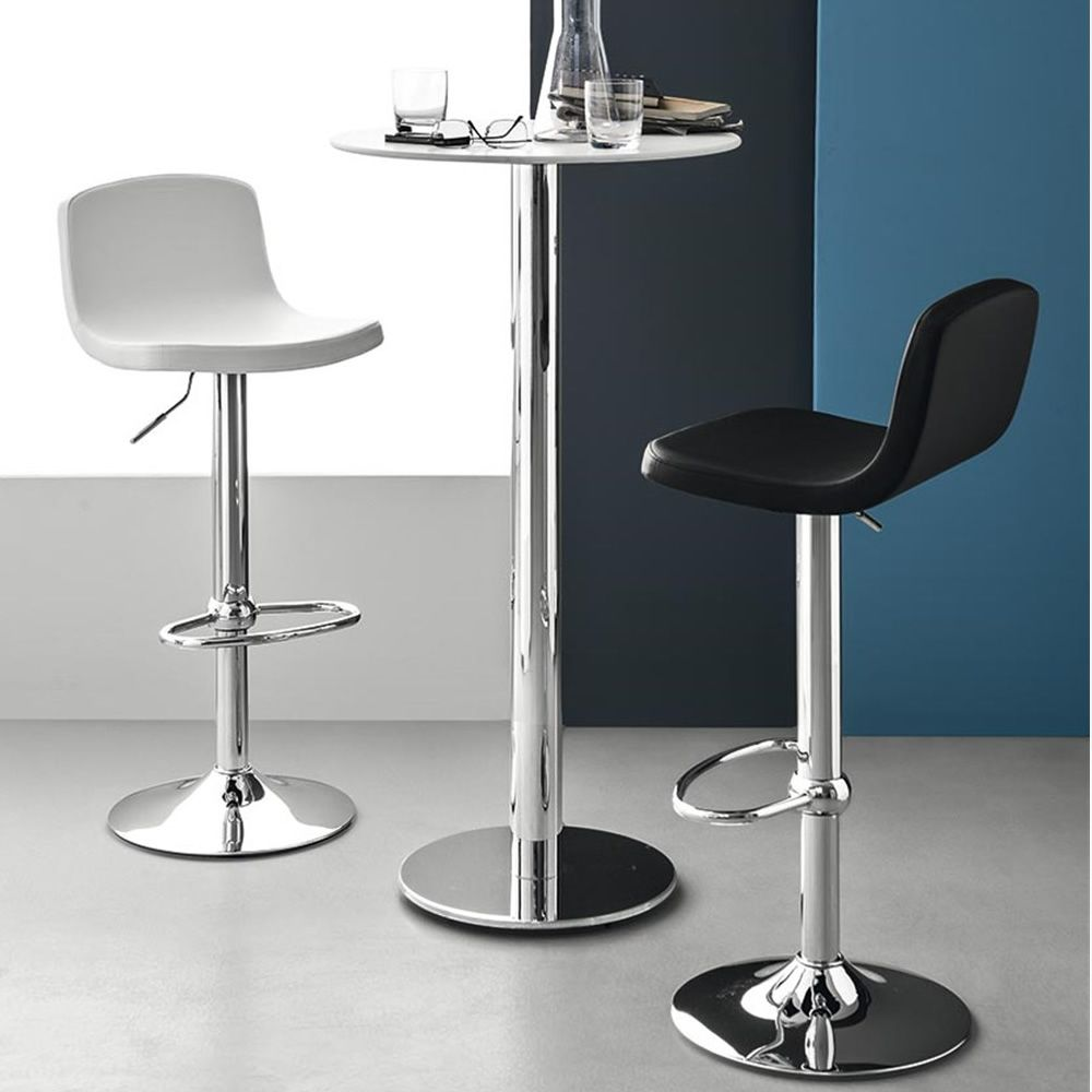 Cb1532 joe taburete connubia calligaris de metal - Sillas regulables en altura ...