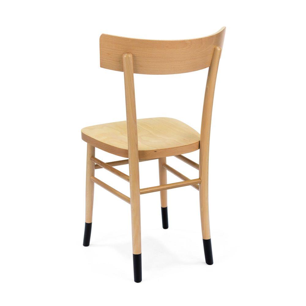milano l pour bars et restaurants chaise viennoise en bois sediarreda. Black Bedroom Furniture Sets. Home Design Ideas