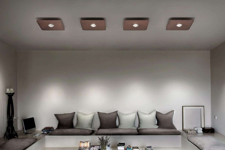 Frozen - Lampada a soffitto di design, in metallo, LED, disponibile in diverse dimensioni e ...