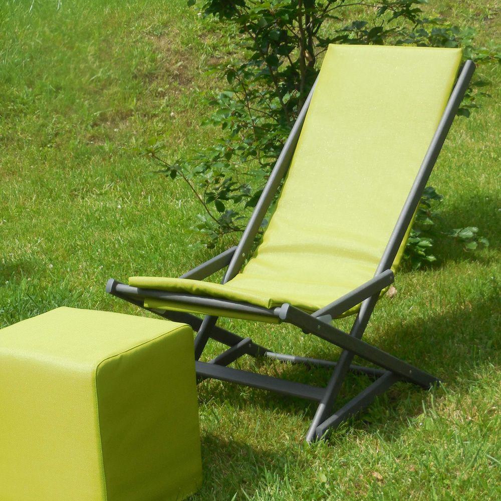 Dondolina sedia sdraio pieghevole in legno di faggio con for Sdraio in legno leroy merlin