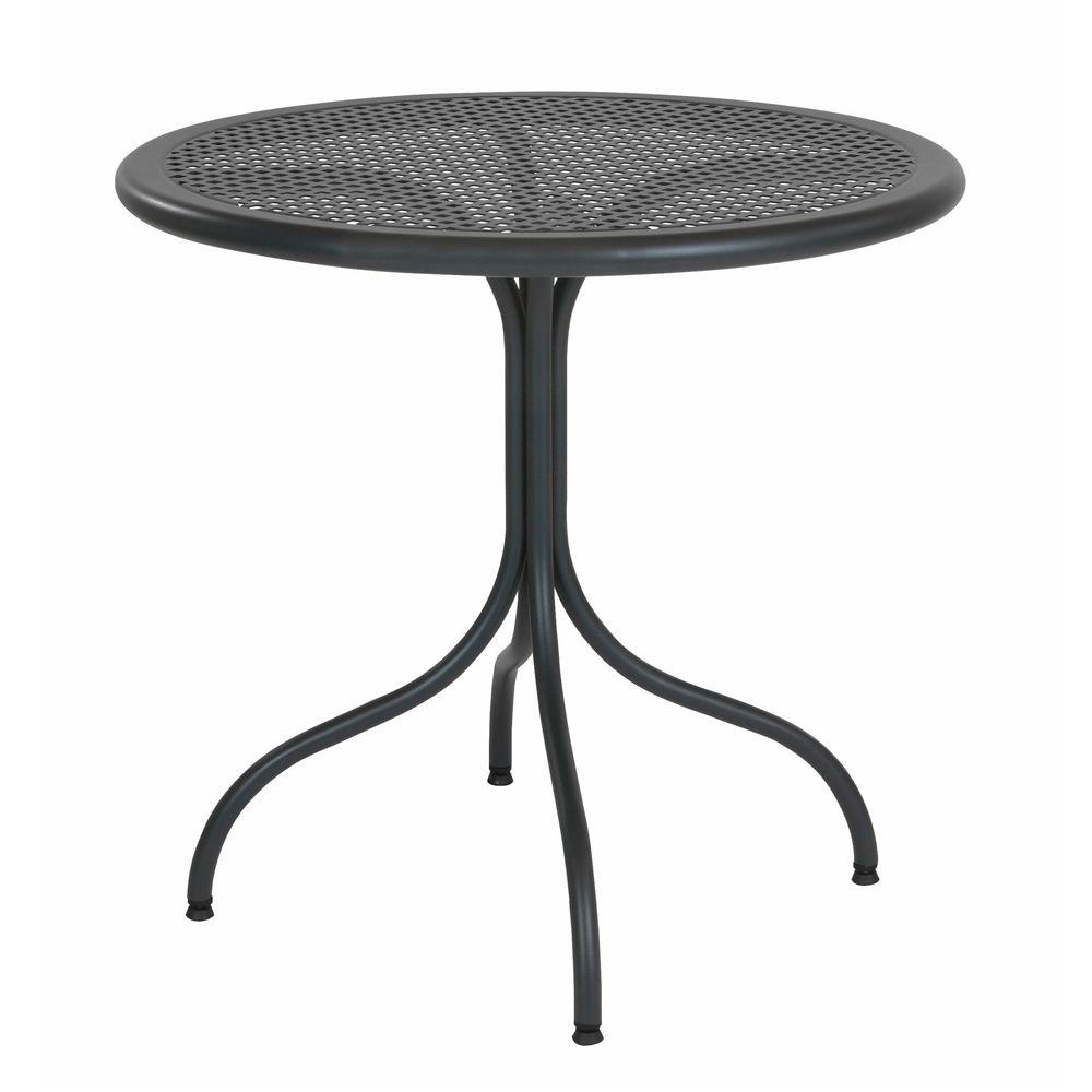 rig39 runder tisch aus metall platte aus streckgitter durchmesser 80 cm f r garten sediarreda. Black Bedroom Furniture Sets. Home Design Ideas