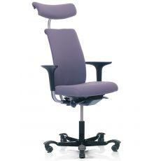 H05 ® - Silla ergonómica de oficina HÅG, parcialmente acolchada, varios respaldos