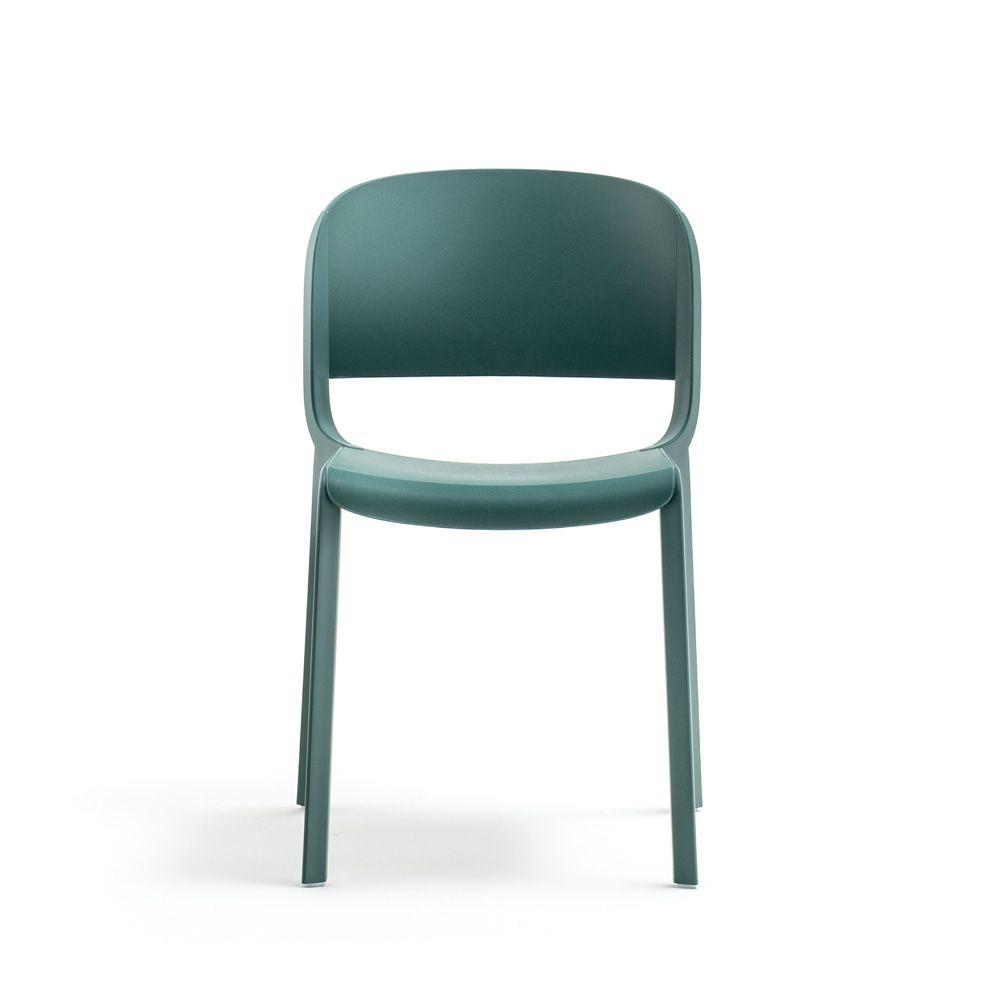 Dome sedia pedrali in polipropilene impilabile con o for Sedia e maschile o femminile