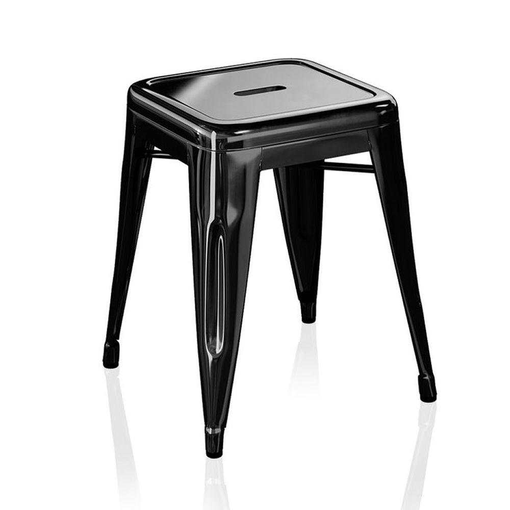 h5 tabouret design en m tal peint empilable hauteur d 39 assise 45 ou 50 cm sediarreda. Black Bedroom Furniture Sets. Home Design Ideas