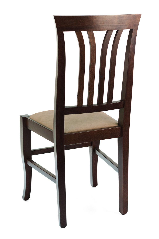 mu47 bis rustikaler holzstuhl in verschiedenen farben verf gbar mit sitz aus holz. Black Bedroom Furniture Sets. Home Design Ideas