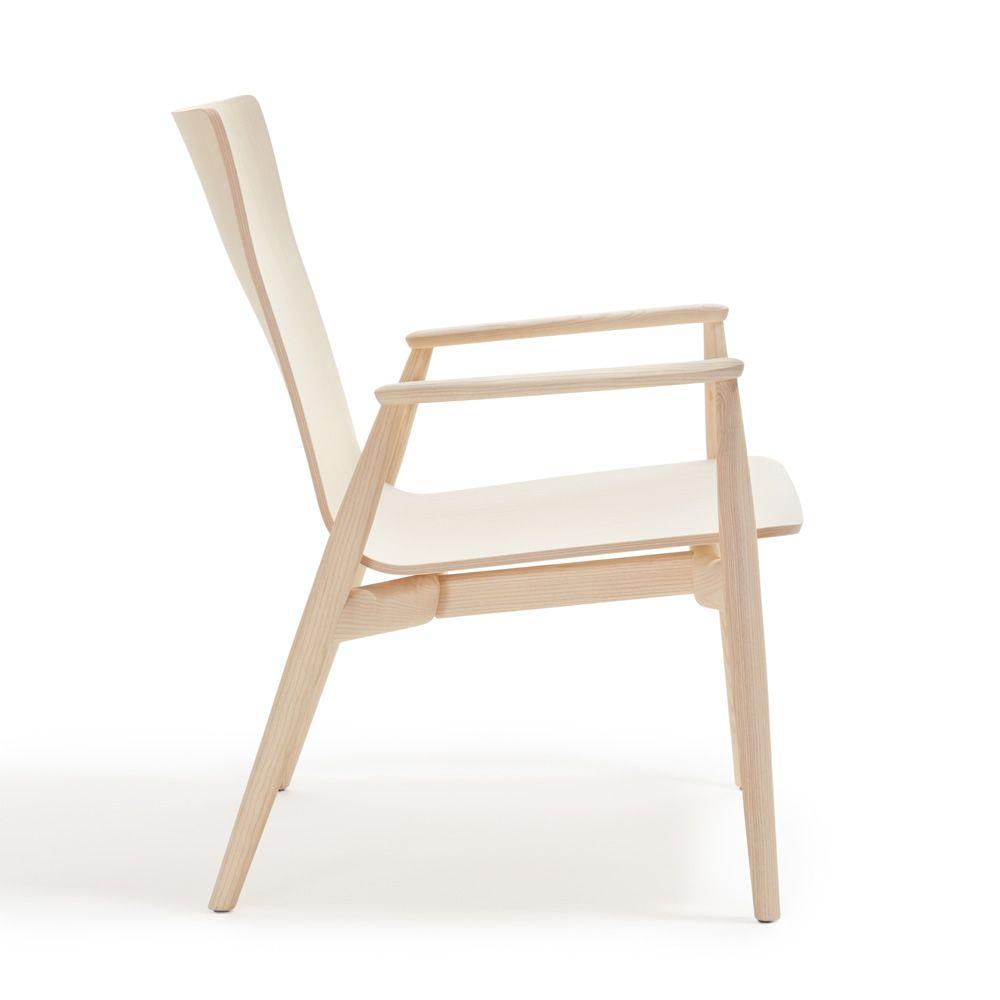 Malm relax 299 sill n lounge pedrali de design en for Sillon relax madera