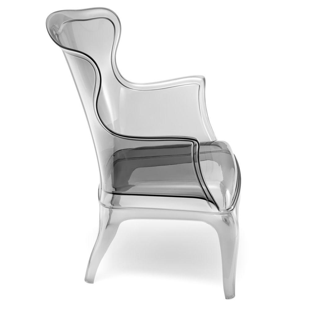 Wonderful ... Pasha 660   Armchair In Polycarbonate, Transparent Smoke Grey Colour ... Nice Ideas