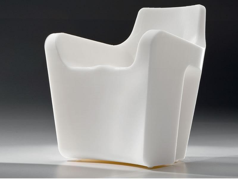 sunset fauteuil design tonon pour ext rieur en poly thyl ne blanc sediarreda. Black Bedroom Furniture Sets. Home Design Ideas