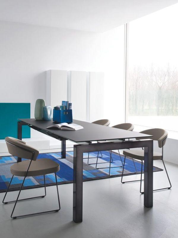 cs1022 ev new york chaise calligaris en m tal garnie en tissu diff rentes couleurs sediarreda. Black Bedroom Furniture Sets. Home Design Ideas
