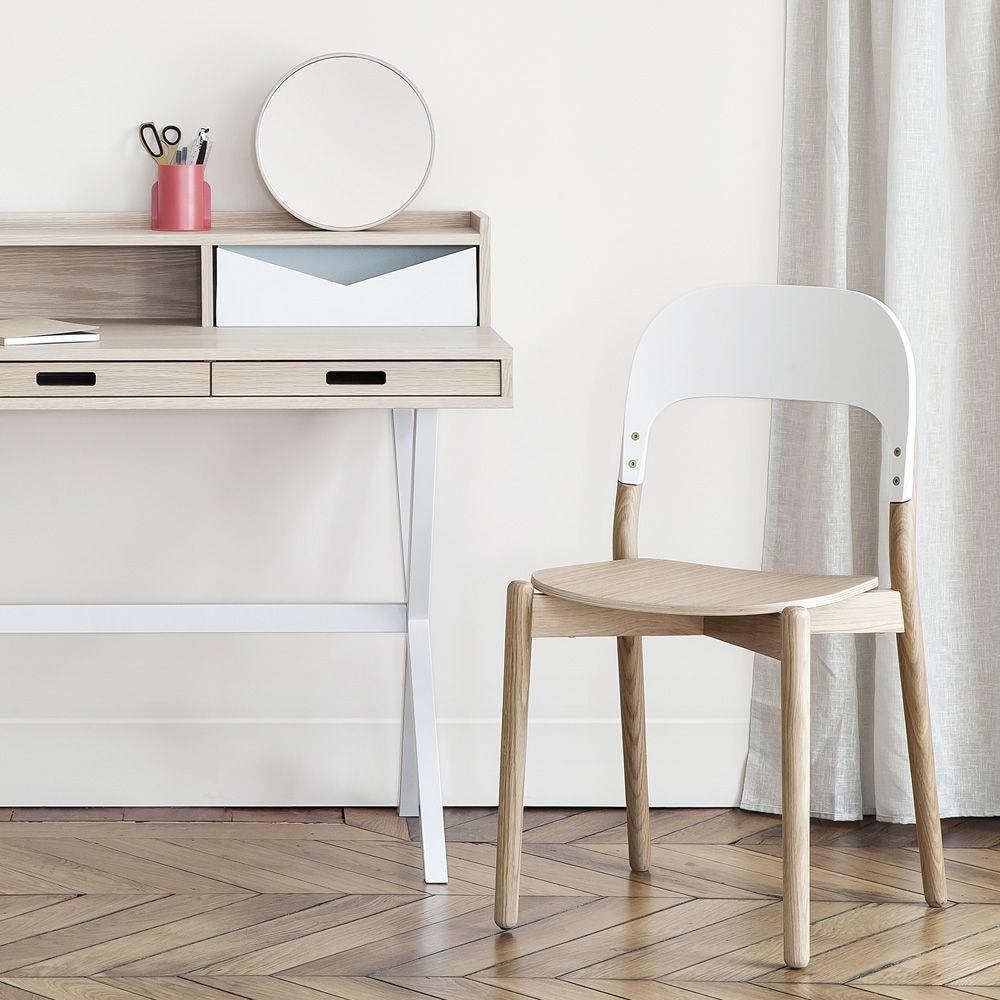 Paula sedia di design in legno sediarreda for Sedia scrivania design