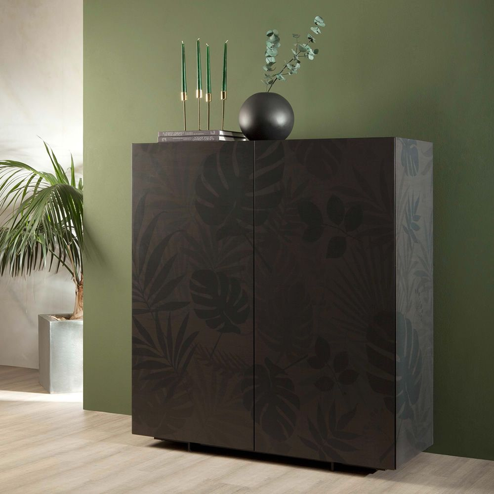 Kong 8635 meuble de s jour tonin casa en bois avec 2 for Meuble sejour bois