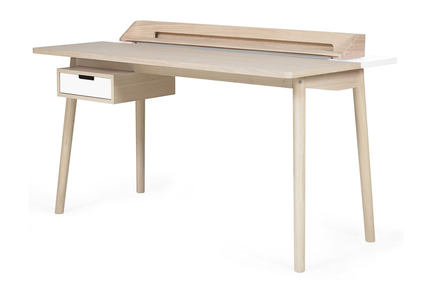 Honoré Design Wooden Desk White Details