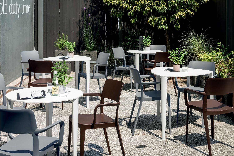 Nenè per bar e ristoranti sedia impilabile in polipropilene