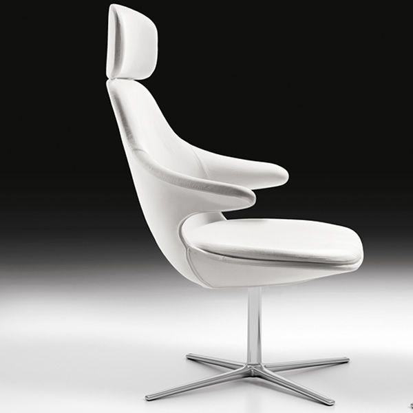 hires loop lounge fauteuil dote d appui tete en differents revetements Résultat Supérieur 50 Élégant Fauteuil Pivotant Cuir Image 2017 Zat3
