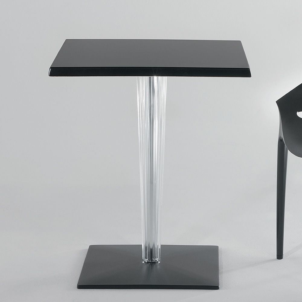 Toptop square table basse design de kartell en mati re - Table basse en plastique ...