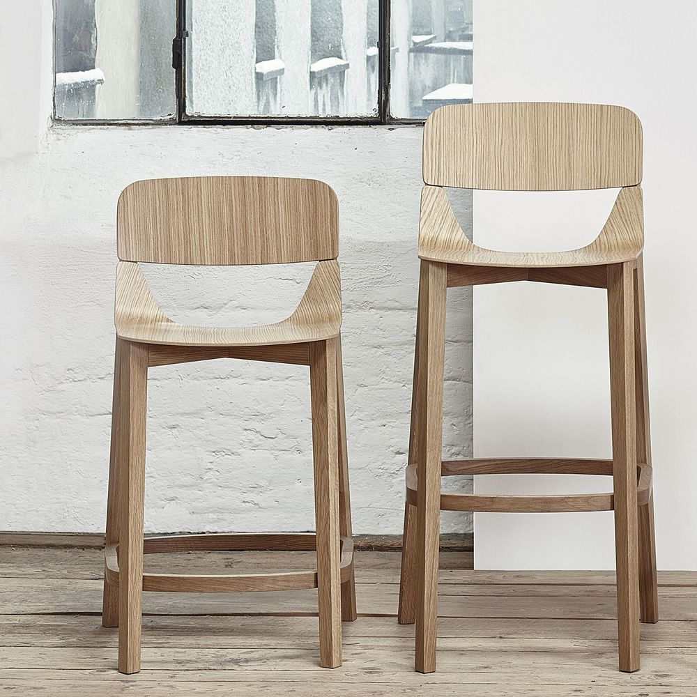 leaf stool 439 hocker ton aus holz mit sitz aus holz sitzh he 61 oder 76 cm sediarreda. Black Bedroom Furniture Sets. Home Design Ideas