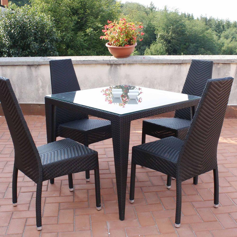 Komodo per bar e ristoranti tavolo per bar e ristoranti in alluminio e simil rattan per - Canne usate per realizzare sedie e tavoli ...