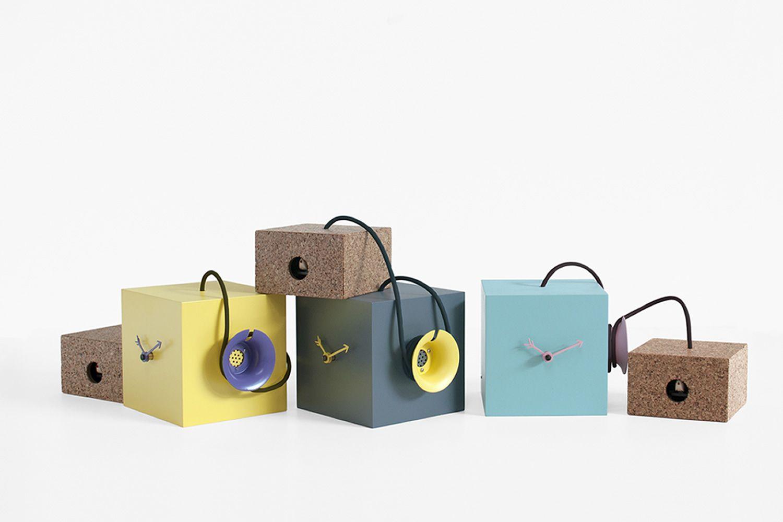 Tavoli Da Parete Allungabili : Uhuhu orologio a cucù da parete o da tavolo in legno e sughero