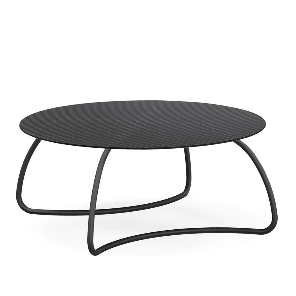 loto dinner r table en m tal plan de travail ovale 190 x 100 cm ou rond 120 ou 170 cm sediarreda. Black Bedroom Furniture Sets. Home Design Ideas