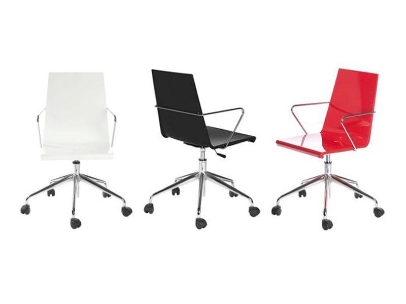 Ufficio Rosso E Bianco : Snake office sedia per ufficio girevole e regolabile in altezza