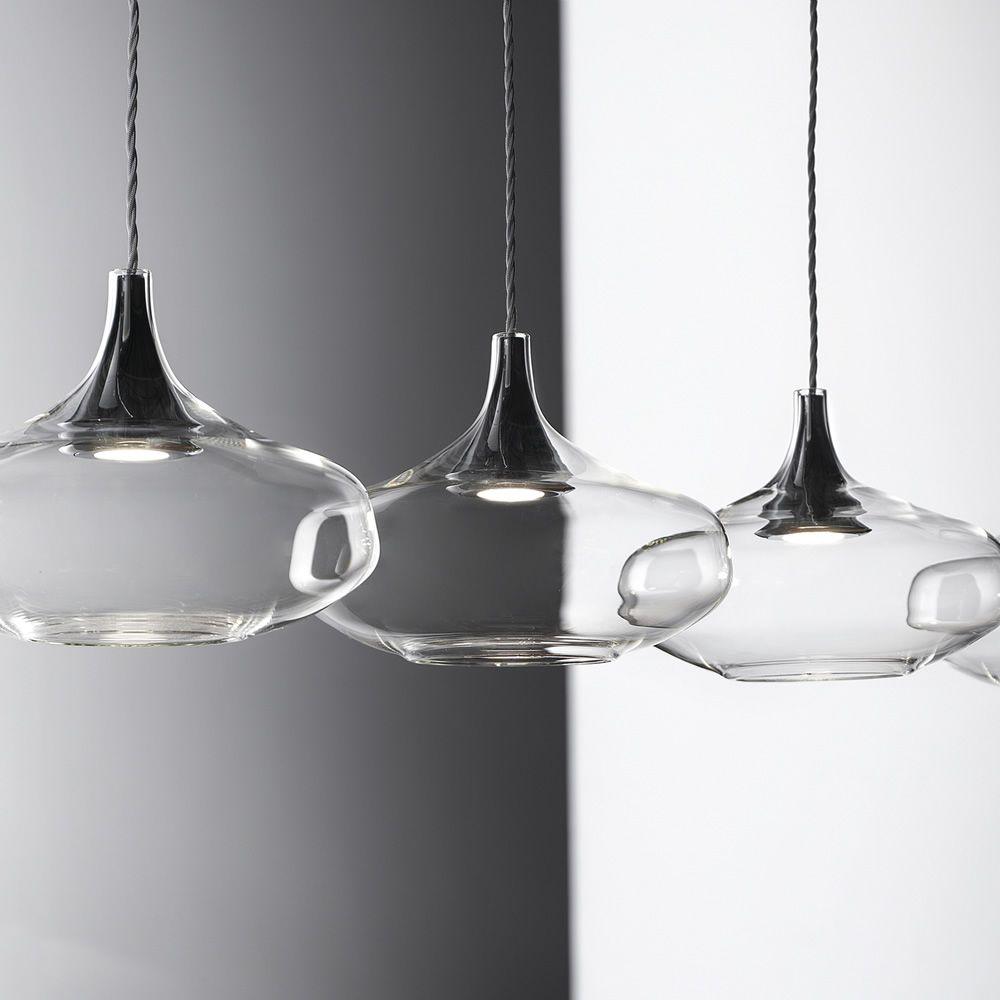 Nostalgia Linear - Lampada a sospensione di design, in vetro ...