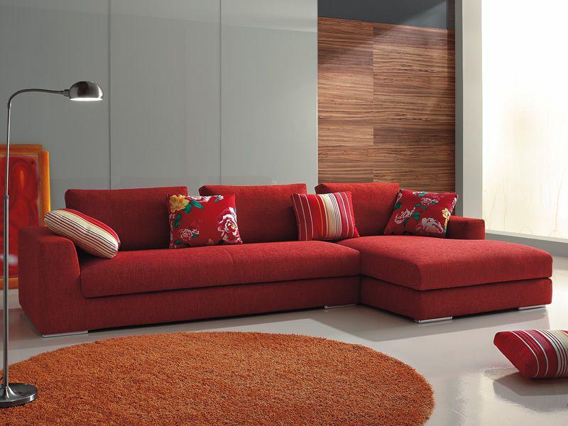 Sofa Moderno Com Chaise Oceano Chaise Longue | Sofá de