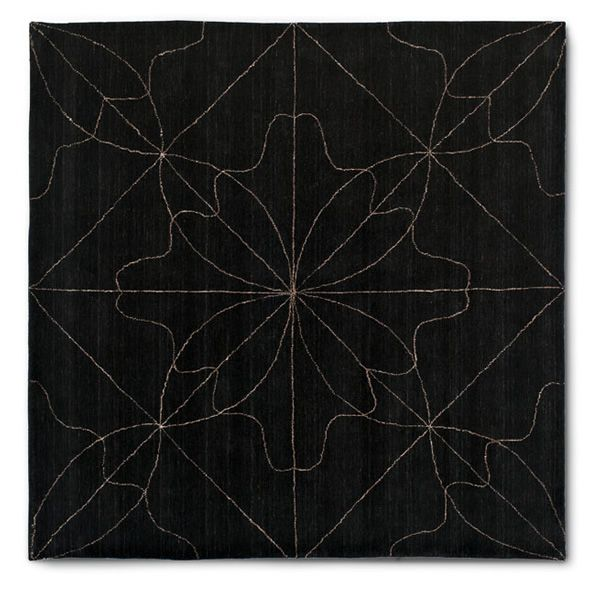 7131 delight quadratischer calligaris teppich aus wolle. Black Bedroom Furniture Sets. Home Design Ideas