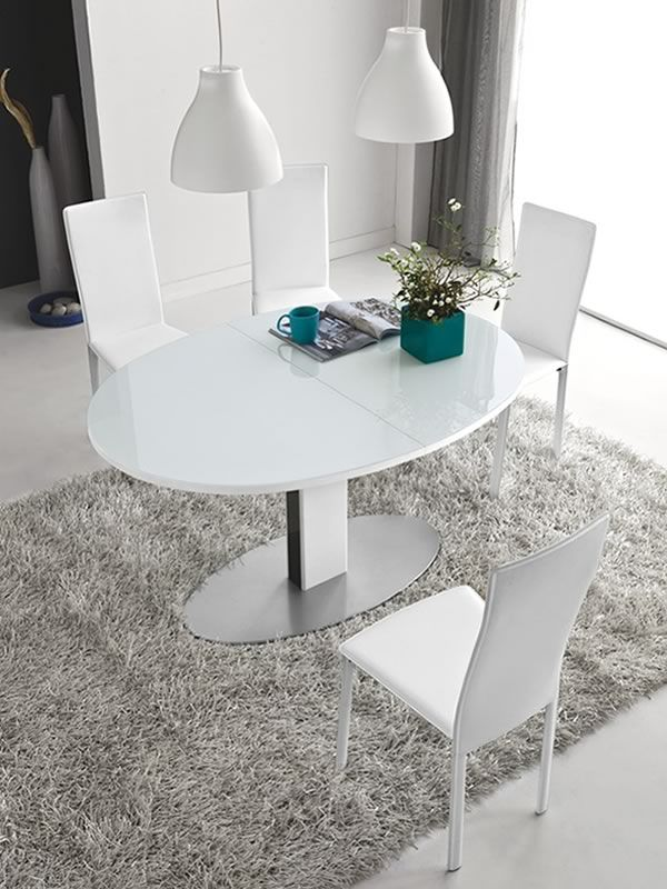 Cb4756 e thesis tavolo allungabile connubia calligaris for Tavolo ovale allungabile calligaris