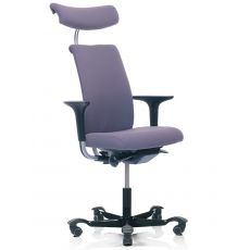 H05 ® - Ergonomic office chair by HÅG, partially padded, backrest in several sizes
