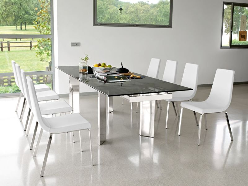 Cb1095 cruiser per bar e ristoranti sedia in metallo for Sedie in pelle bianca