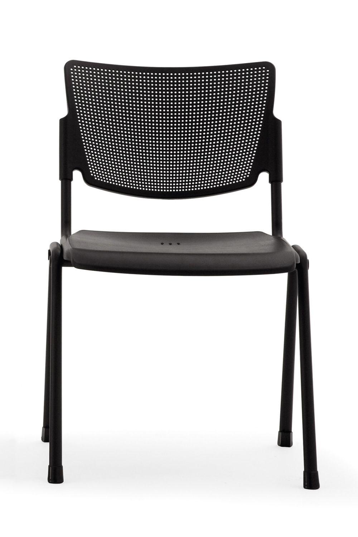 ml104 chaise de salle d 39 attente ou de conf rence empilable assise en plastique en diff rentes. Black Bedroom Furniture Sets. Home Design Ideas