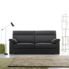 Devis - 2 seater sofa, totally removable covering, different upholsteries and colors available