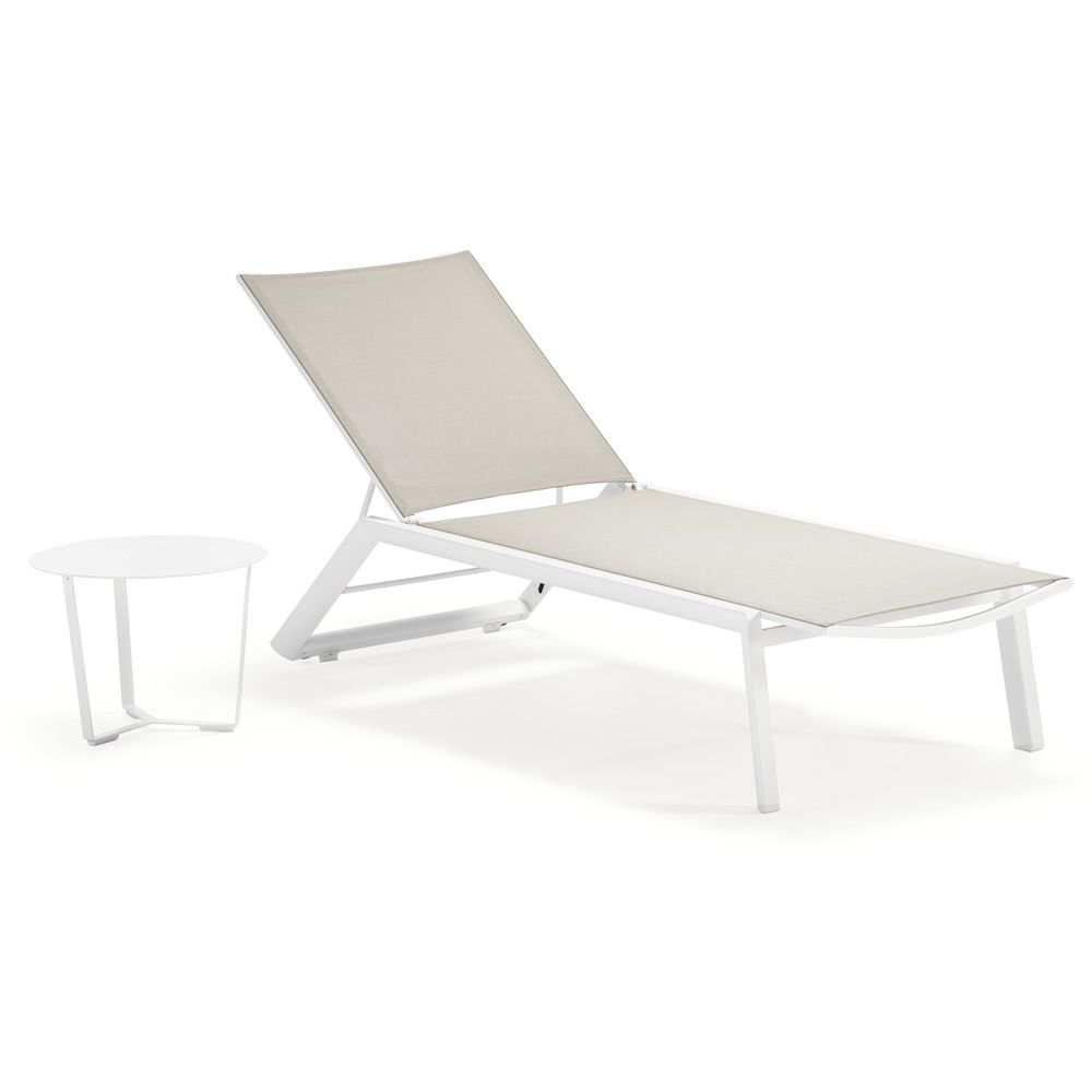 tt924 bain de soleil en aluminium rev tement en. Black Bedroom Furniture Sets. Home Design Ideas