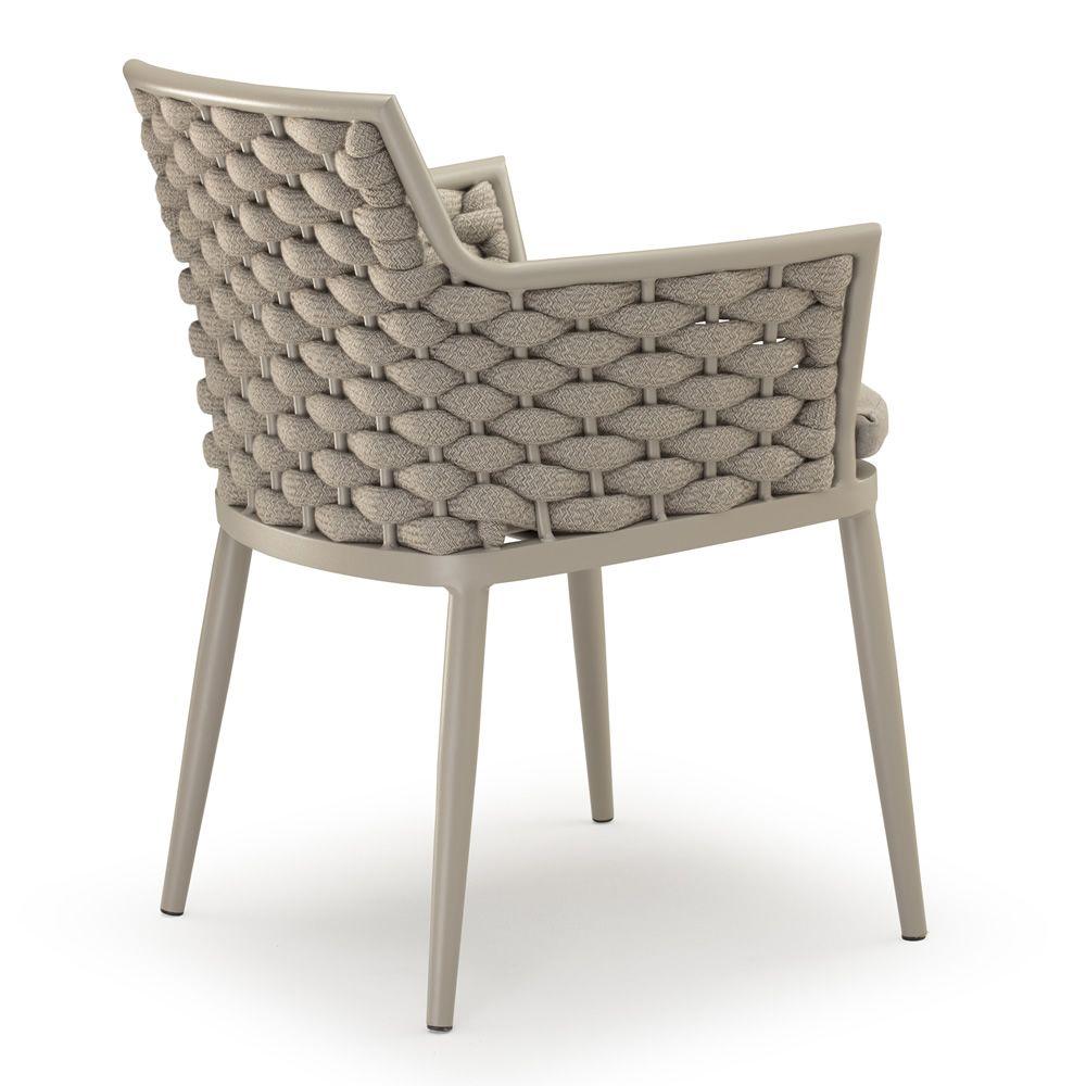 spring p sessel f r den au enbereich aus aluminium mit acryl seile und gummi sediarreda. Black Bedroom Furniture Sets. Home Design Ideas