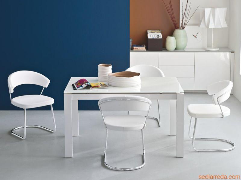 Cb1111 new york per bar e ristoranti sedia in metallo for Pelle per rivestimento sedie