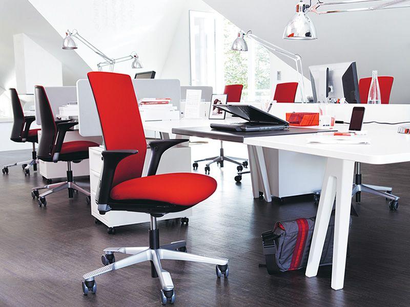Futu chaise de bureau h g avec ou sans accoudoirs - Chaises de bureau ergonomiques ...