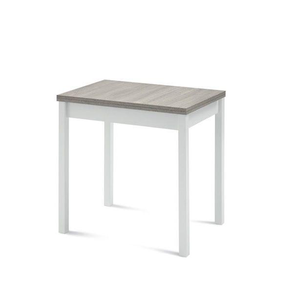Hot m tavolo domitalia in legno e melaminico 80 x 60 cm for Tavolo legno invecchiato