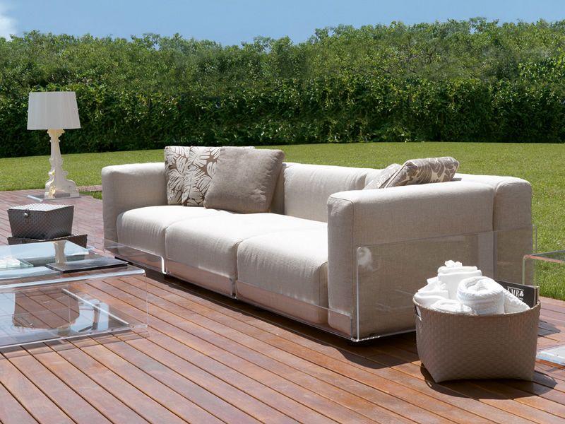 asami 3p 3 sitzer sofa colico aus methacrylat auch f r den au enbereich mit verschiedenen. Black Bedroom Furniture Sets. Home Design Ideas