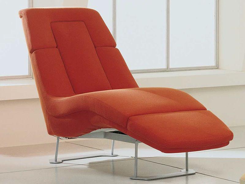 Matrix relax chaise longue moderne en diff rents tissus for Meilleure chaise longue