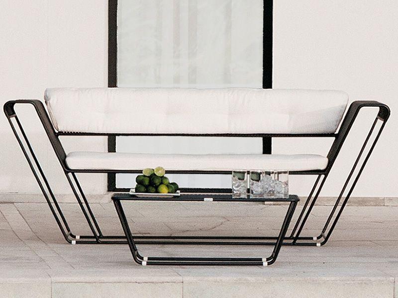 Float Set: Ensemble de jardin design: canapé, 2 fauteuils et table ...