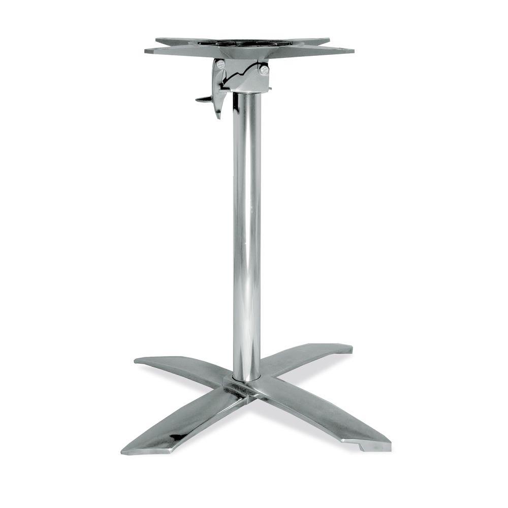 Base Tavolo Bar.Tt612 Base Per Tavolo Bar Reclinabile In Alluminio E Ghisa