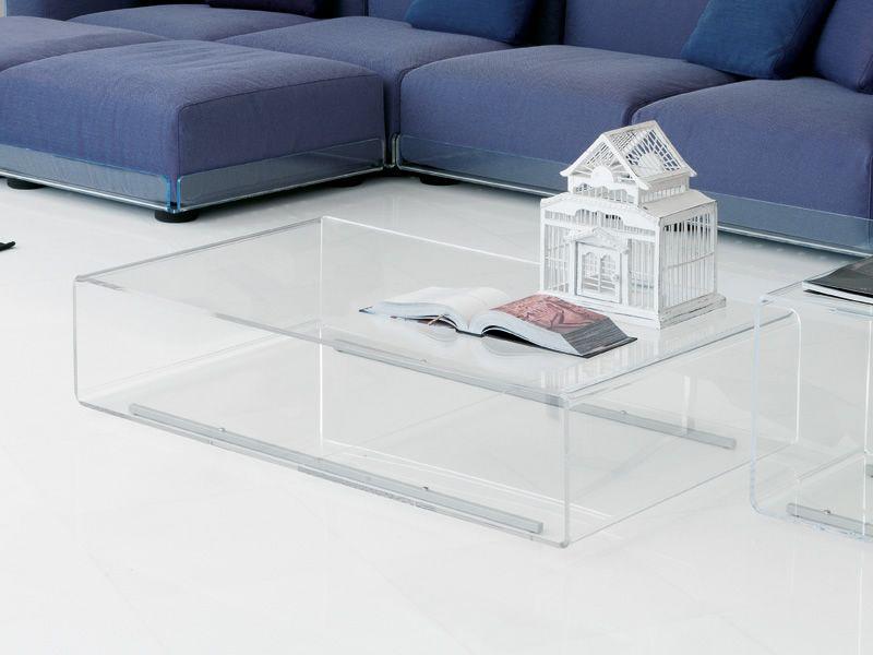 Asami tr tavolino e divano in metacrilato di colico design for Tavolino divano design