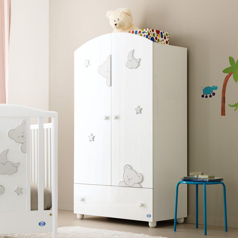 georgia a armoire pali en bois avec tiroir 2 tag res et. Black Bedroom Furniture Sets. Home Design Ideas