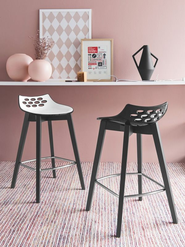 Cb1485 Jam W Connubia Calligaris Stool Made Of Wood