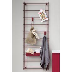 Sapone - Griglia porta accessori in metallo, disponibile in diversi colori