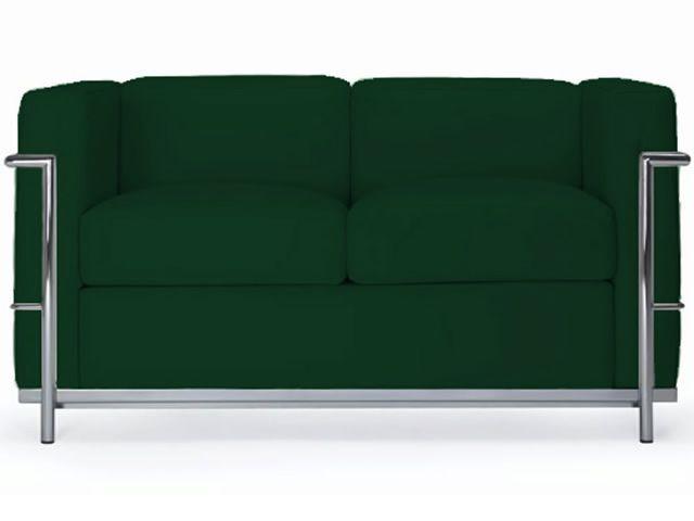 Ml160 2p divano a due posti in pelle o ecopelle differenti colori sediarreda - Divano in pelle o ecopelle ...