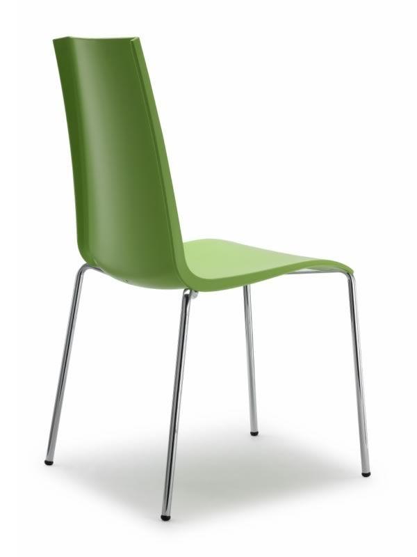 Mannequin 2660 chaise de bar en m tal et en technopolym re empilable disponible dans for Chaise bar couleur